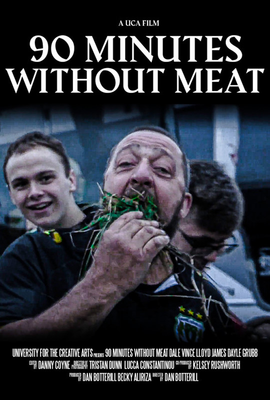 90 Minutes Without Meat film poster