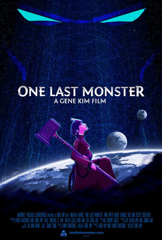 One Last Monster film poster