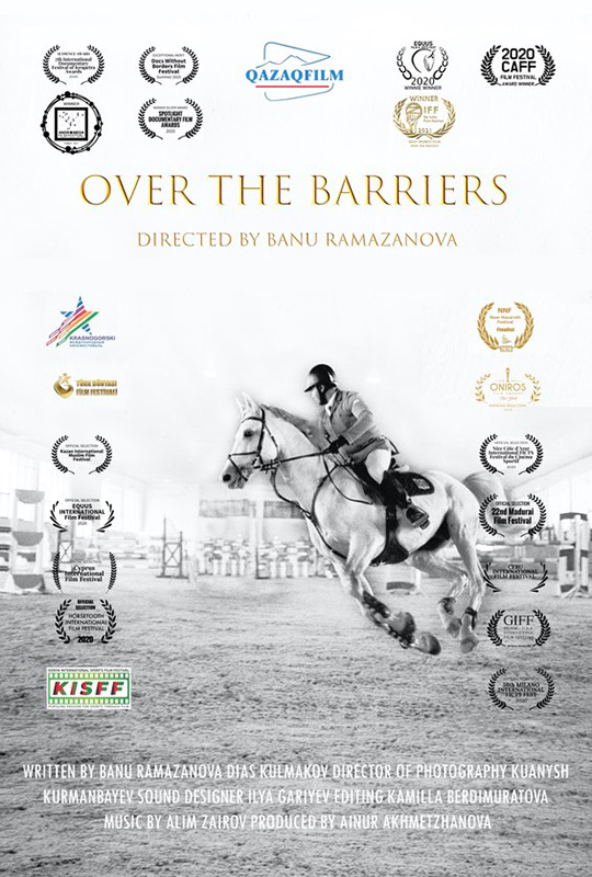 Over the barriers film poster