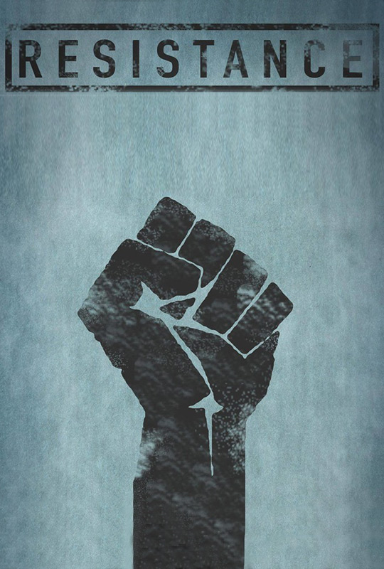 Resistance film poster